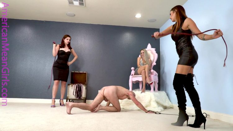 Beaten for the HBIC.mp4.00003 750x422 - The Mean Girls - Beaten for the HBIC