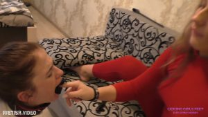 VALERIA   Having fun with a slave girl after a walk.00003 300x169 - Licking Girls Feet - VALERIA - Having fun with a slave girl after a walk