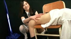 CAGG 003.mp4.00004 300x168 - CAGG-003 - Sadistic Girl and Masochistic Male Plaything