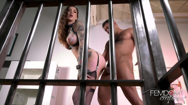 FemdomEmpire.com   Rocky Emerson   Amazon s Caged Cuckold.mp4.00002 750x422 - FemdomEmpire - Rocky Emerson - Amazon's Caged Cuckold FullHD