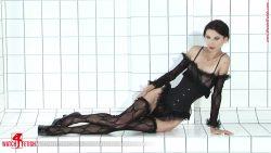 379 01 00001 250x141 - Small Breast - Roxana - Tight corset and sexy nylons - empornius.com